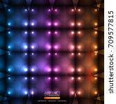 neon abstract background | Shutterstock .eps vector #709577815