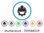development rounded icon.... | Shutterstock .eps vector #709588519