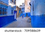 a moroccan woman in national... | Shutterstock . vector #709588639