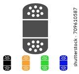 plaster vector pictogram. style ... | Shutterstock .eps vector #709610587
