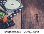 home entertainment relax | Shutterstock . vector #709634845