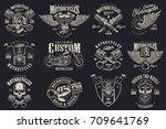 Set Of Vintage Custom...