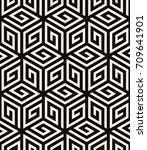 vector seamless pattern. modern ... | Shutterstock .eps vector #709641901