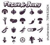 images of juicy fresh... | Shutterstock .eps vector #709652824