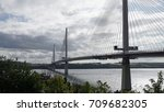 photo of the new queensferry... | Shutterstock . vector #709682305