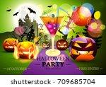 halloween. | Shutterstock .eps vector #709685704