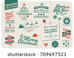 vector collection for the... | Shutterstock .eps vector #709697521