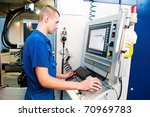 mechanical technician operative ... | Shutterstock . vector #70969783