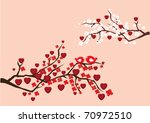 vector abstract branches with... | Shutterstock .eps vector #70972510