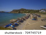 laconia   greece july 2016  the ... | Shutterstock . vector #709745719