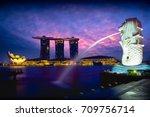 singapore september 6  2017  ...   Shutterstock . vector #709756714