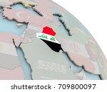 illustration of iraq on... | Shutterstock . vector #709800097