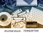 business accounting    Shutterstock . vector #709839709