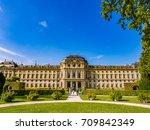 wurzburg  germany   sep 28 ... | Shutterstock . vector #709842349