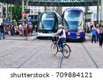 strasbourg  france   july 28... | Shutterstock . vector #709884121