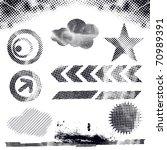 abstract modern vector... | Shutterstock .eps vector #70989391