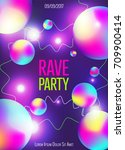 colorful  vibrant flyer design...   Shutterstock .eps vector #709900414