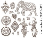 elephant  dancers  mandalas