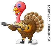 vector illustration of cartoon... | Shutterstock .eps vector #709918501