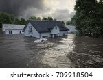Flooding Houses With Rising...