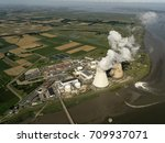 Aerial View Of A Nuclear...
