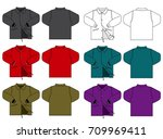 illustration of men's jacket  ...   Shutterstock .eps vector #709969411
