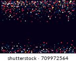 abstract background with flying ... | Shutterstock .eps vector #709972564