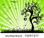 Green Landscape With...