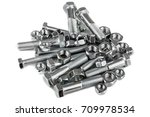 bolts and nuts | Shutterstock . vector #709978534