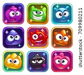 colorful app icons with funny...