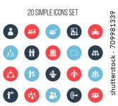 set of 20 editable community...