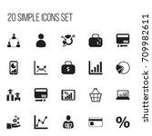 set of 20 editable logical...