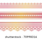 special lace | Shutterstock .eps vector #70998316