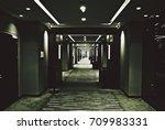 Little Girl In Dark Corridors...