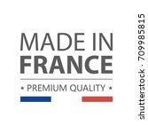 icon. made in france. premium... | Shutterstock .eps vector #709985815