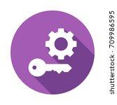 setting key  | Shutterstock .eps vector #709986595