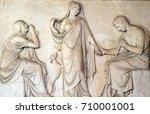 rome  italy   september 03 ... | Shutterstock . vector #710001001