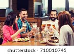 leisure  eating  food and... | Shutterstock . vector #710010745
