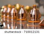 replaceable nozzles for plasma... | Shutterstock . vector #710012131