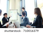 business conference... | Shutterstock . vector #710016379