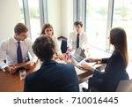 diversity people talk the... | Shutterstock . vector #710016445
