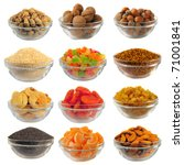 choice dry food to utensils on... | Shutterstock . vector #71001841
