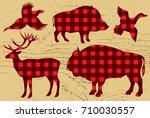 template for restaurant menu... | Shutterstock .eps vector #710030557