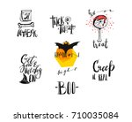 hand drawn vector abstract... | Shutterstock .eps vector #710035084