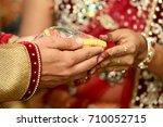 indian wedding jewelry | Shutterstock . vector #710052715