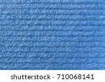 texture of cellulose. blue... | Shutterstock . vector #710068141