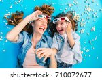 brightful stylish image from... | Shutterstock . vector #710072677