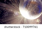 bright patches of light on... | Shutterstock . vector #710099761