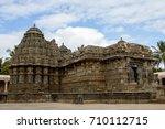 archeological wonders of india... | Shutterstock . vector #710112715