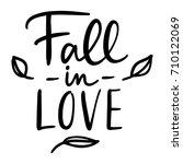 Set Of Handwritten Autumn...